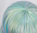 Country of gems Colorful gradient wig (gift Hair net) YC20246