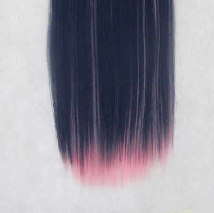 Magic blue pink mixed cos wig (gift Hair net) YC20255