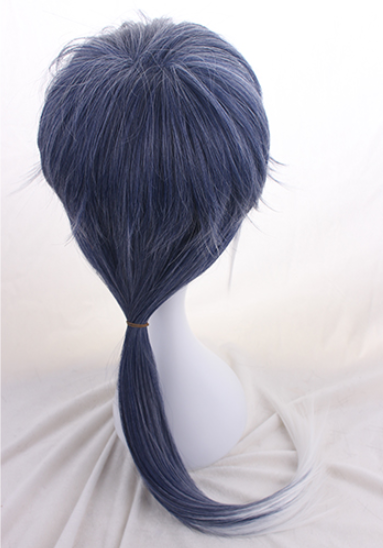 Harajuku blue and white gradient cos wig YC20256