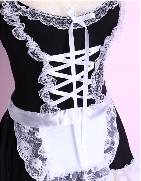 Sexy lace COS maid costume YC20258