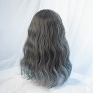 Lolita grey-blue gradient wig YC20322