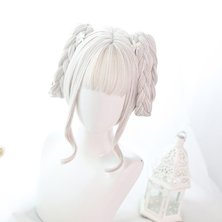 Lolita cos mixed color wig yc20527