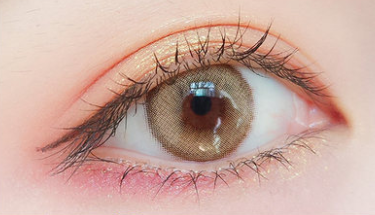 Brown contact lens(TWO PIECE)   YC21226