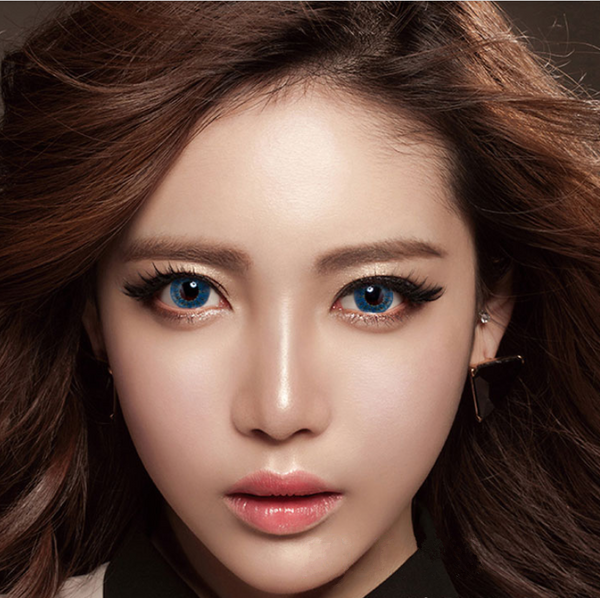 Blue Contact Lens (TWO PIECE)   YC21234