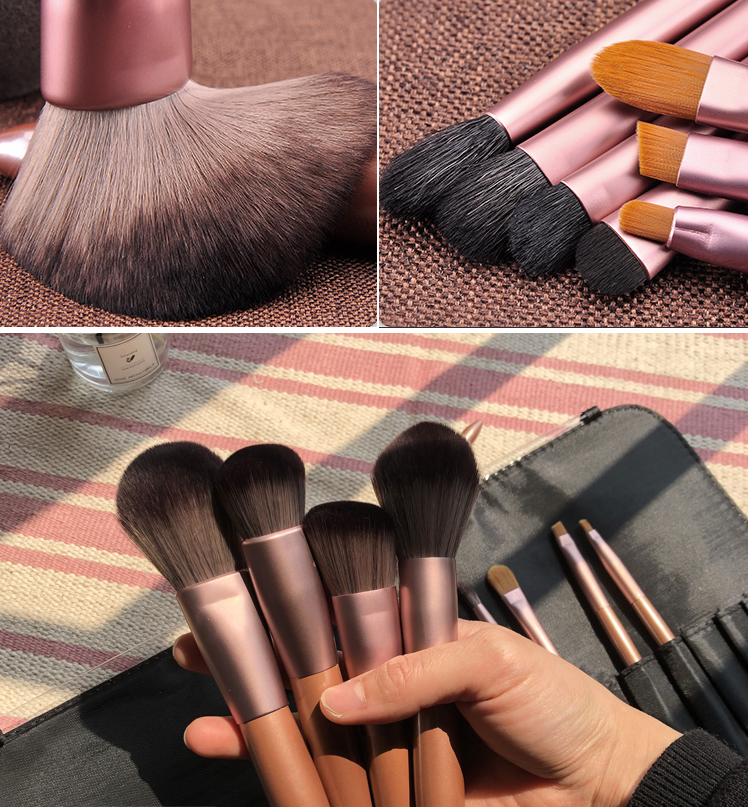 Makeup brush set (12 pieces)  YC21248