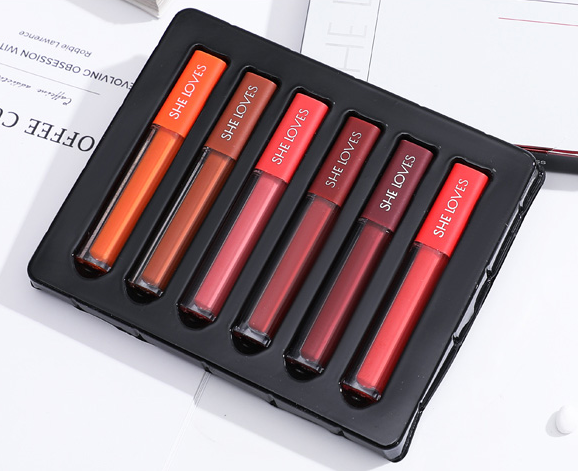 Matte lip glaze set (six packs)  YC21252