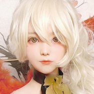 COSplay Flower Yellow Contact lens (Two piece) yc21132