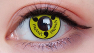 COSplay Yellow Contact lens (Two piece) yc21129