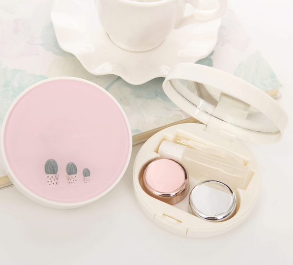 Fresh and lovely contact lens case   YC21288