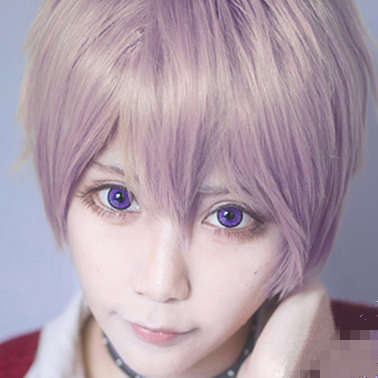 Purple  contact lens (TWO PIECE)   YC21305