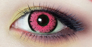 Pink contact lenses (TWO PIECE)    YC21306