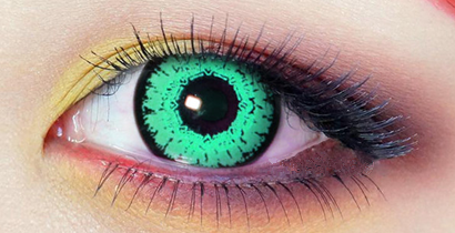 Green Contact Lens (TWO PIECE)   YC21317