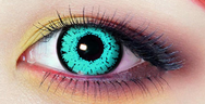 Dark blue contact lenses (TWO PIECE)  YC21318