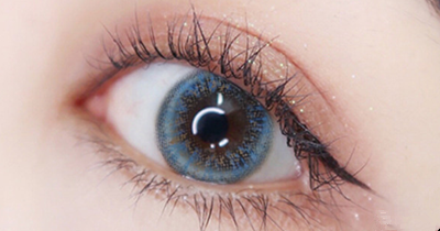 Blue Contact Lens (TWO PIECE)  YC21319