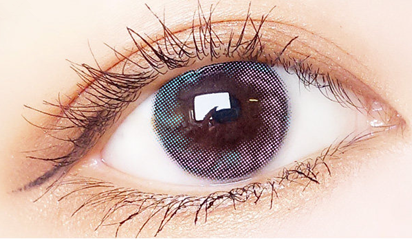Blue Purple Contact Lenses (Two Piece) YC21519