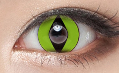 Green COS Contact Lenses (Two Piece) YC21520