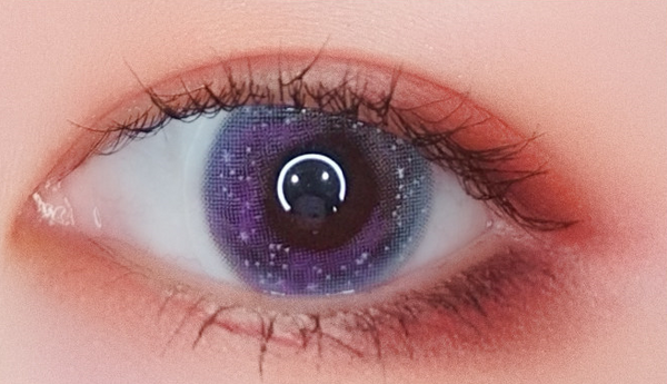 Purple Contact Lenses (Two Piece) YC21526