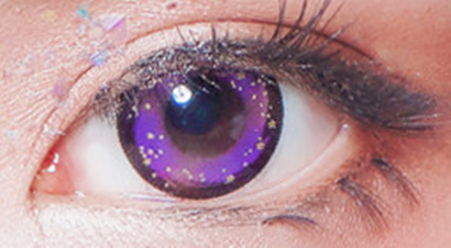 Purple contact lenses (two pieces) YC21563