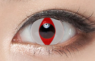 White red contact lenses (two pieces)  YC21607