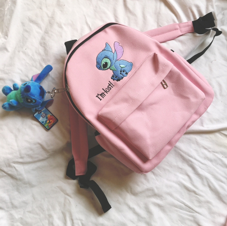 Cartoon embroidered backpack YC21770