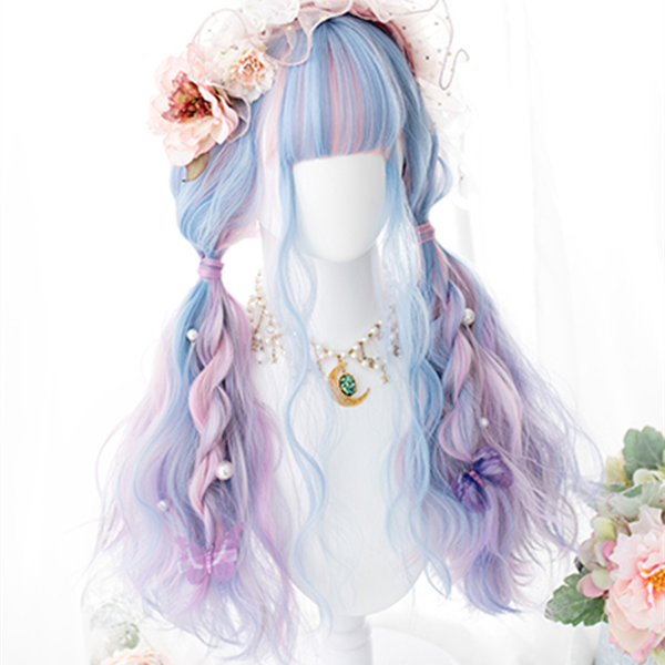 Lolita mixed color wig YC21825