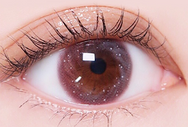 Pink contact lenses (two pieces) YC21841