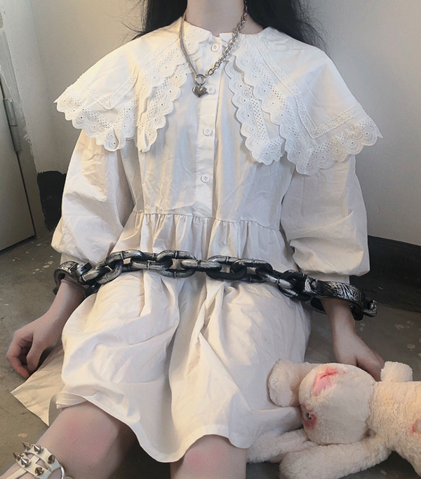 Lolita doll collar dress YC21850