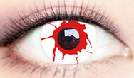 Blood white contact lenses (two pieces) YC21889