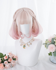 Lolita gradient wig + tiger mouth clip YC21892