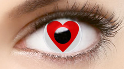 Love contact lenses (two pieces) YC21927