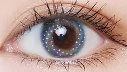 Blue contact lenses (two pieces) YC22073