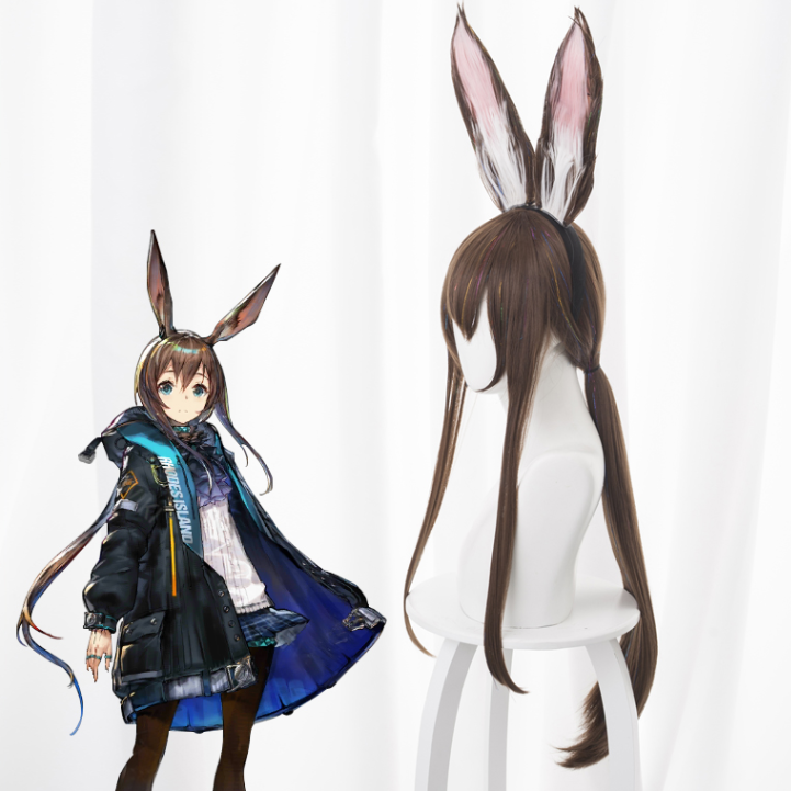 Long rabbit ears cos wig yc22221