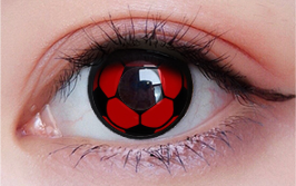 COSplay Football Contacts Lens(Two Piece)yc22253
