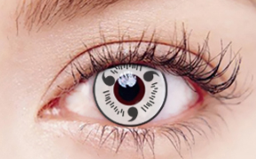 COSplay white Contacts Lens(Two Piece)yc22266