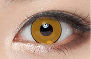 COSplay Orange Black Contacts Lens(Two Piece)yc22286