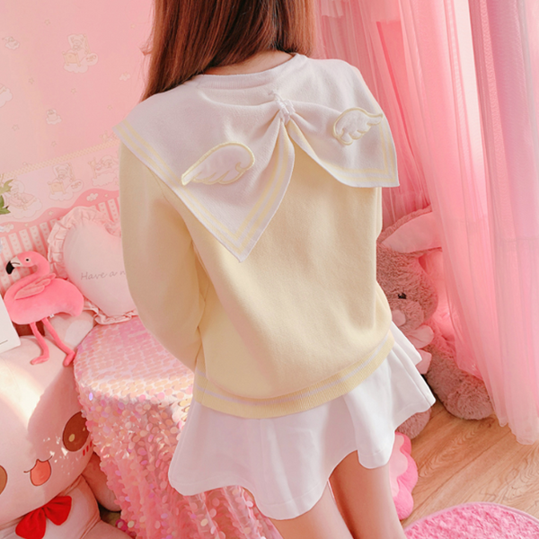 CARD CAPTOR SAKURA Sweater Dress yc22572