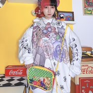 Japanese cartoon sweater yc22573