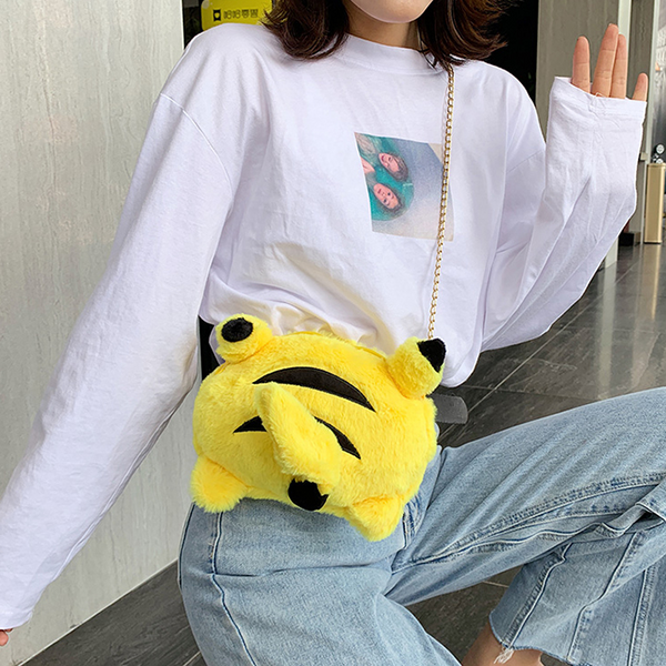 Cute Pikachu Crossbody Bag yc22574