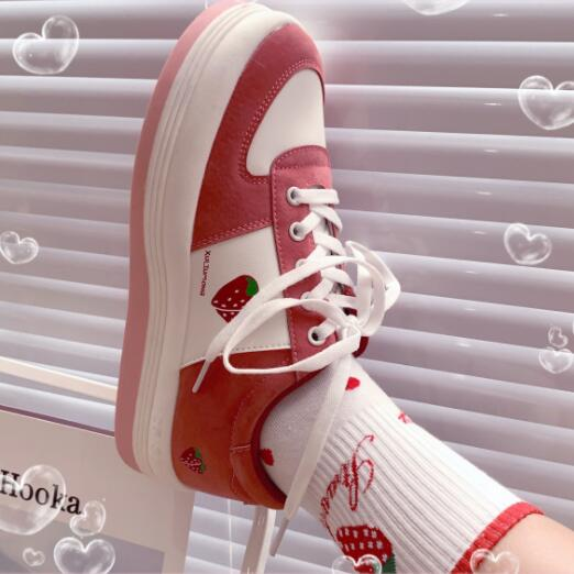 lolita strawberry shoe YC23703