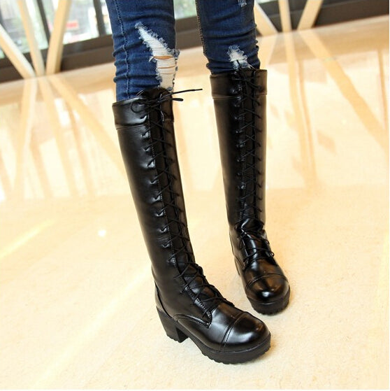 Cosplay black boots YC20468