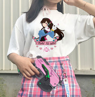 Lolita D.Va Short Sleeve T-Shirt     YC21487