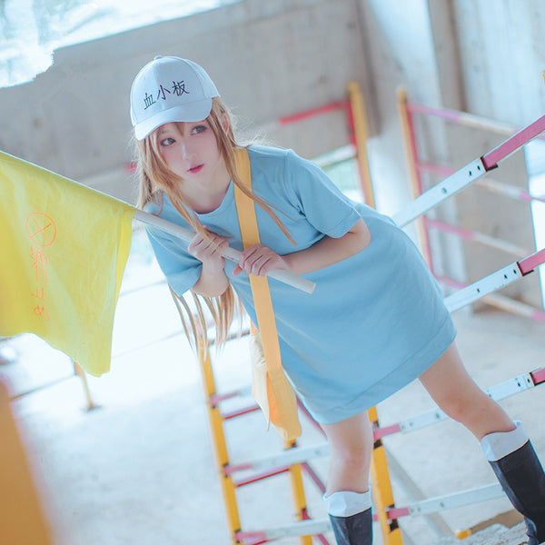 Platelet Cute T-Shirt Cosplay Costume YC20082