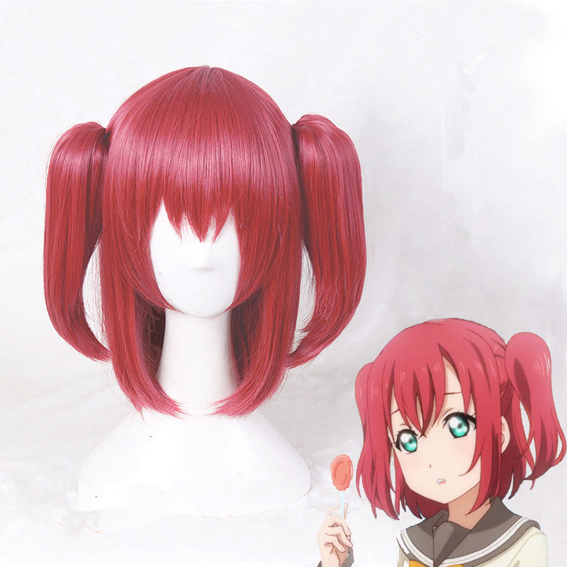 cos red wigs yc20572