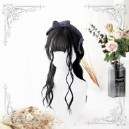 Kawaii Air Bangs Wavy Wig YC40007