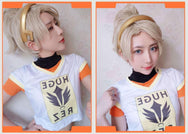 Overwatch Mercy top+underwear Cosplay YC20058