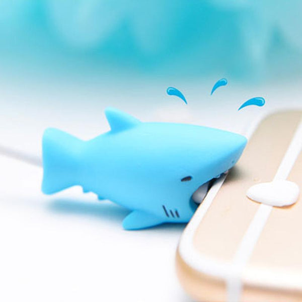Cute Tiny Animal Cable Bite for Iphone Android Any Phone / USB Cable  YC30017