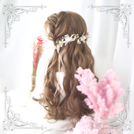 Lolita cos brown wig yc20556