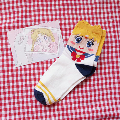 Sailor Moon cos socks yc22440