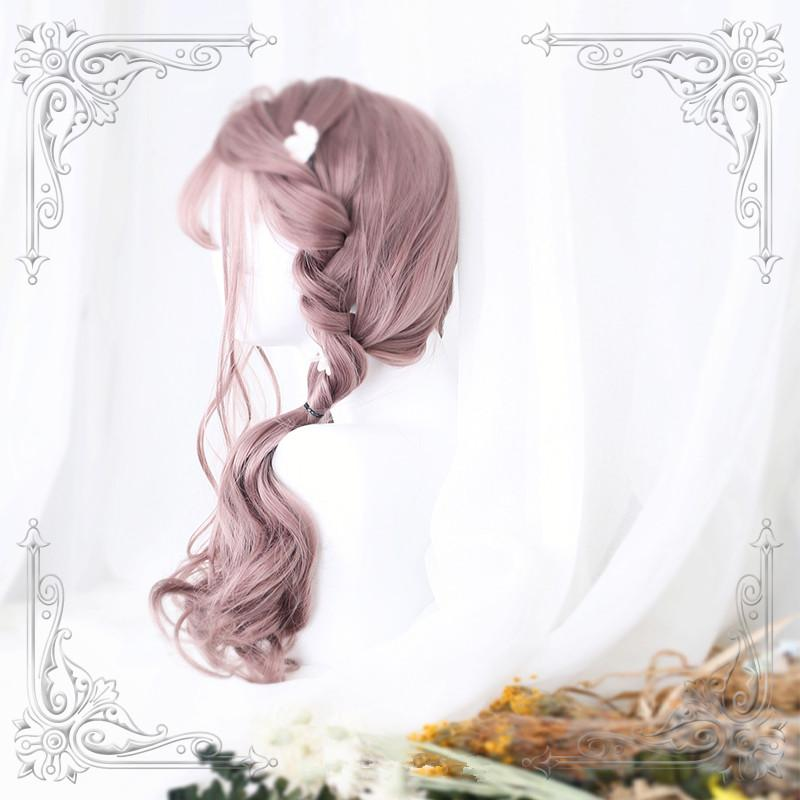 Harajuku Lolita Long Roll Air Bangs Wig YC40017
