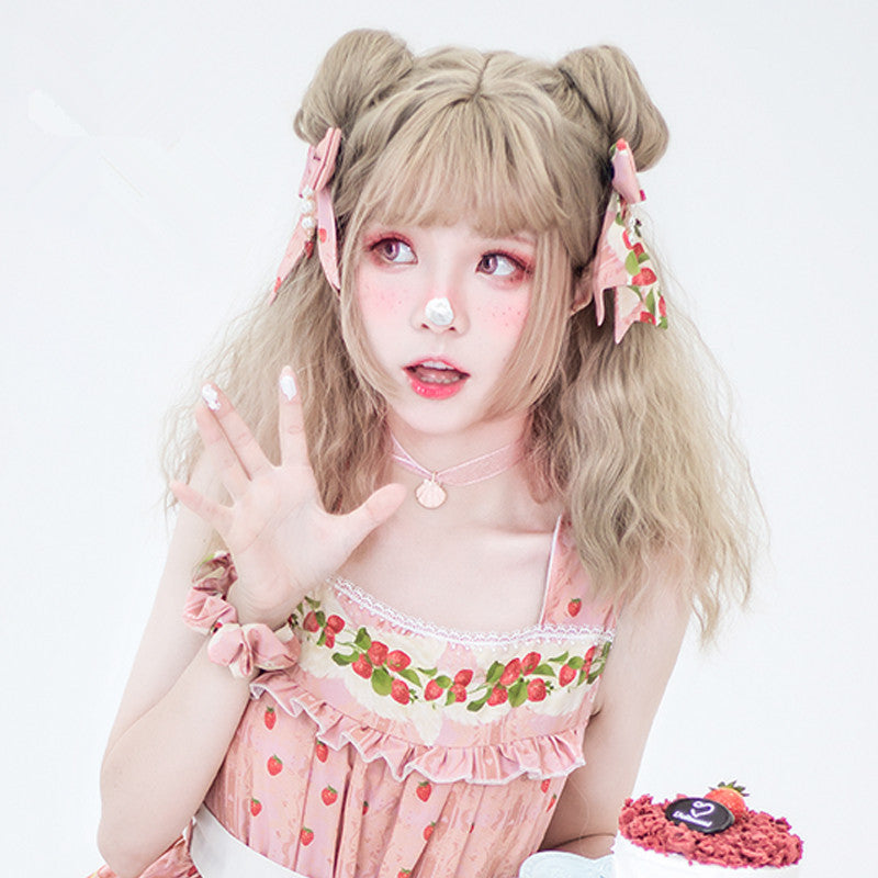 Fluffy Roll Lolita Candy Cute Wig YC40023